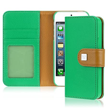 premium selection 51565 d0dd9 Amazon: Wallet Case For Apple iPhone 5 Only $13.19 (Reg. $29.99 ...