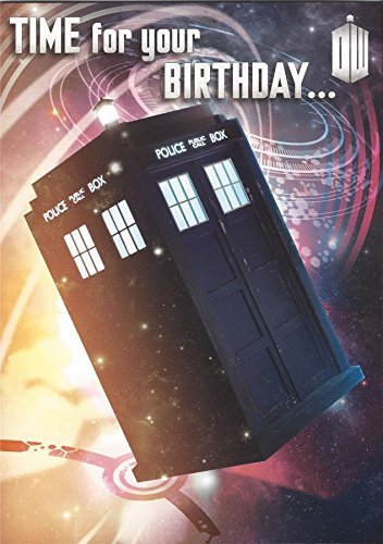 Best Prices! Official Doctor Who Birthday Card With Recorded Message By Daleks