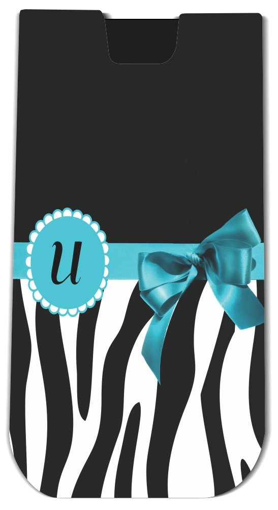 Rikki KnightTM Letter  U  Sky Blue Zebra Bow Monogram Design - Smart Phone Neoprene Protective Pouch for iPhone 4/4s/5/5s/5c, Motorola Moto X, Galaxy S3/S4/Note 3/Ace 2, LG Optimus Gpro/G2/L3/4X HD, Sony Xperia Z1S/U, HTC Droid/One/One X/Pro/mini, Blac blue sky чаша северный олень