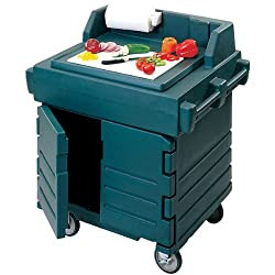 Cambro Work Station & Equipment Stand: Navy Blue