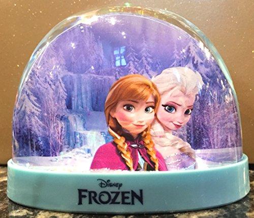 Disney Parks Frozen Elsa Anna Olaf Plastic Snowglobe Snow Dome NEW Water Globe