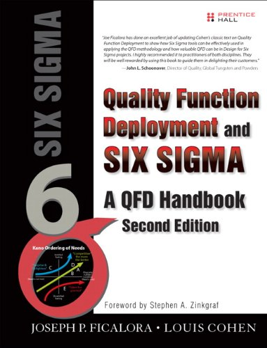 Quality Function Deployment and Six Sigma, Second Edition: A QFD Handbook (2nd Edition)