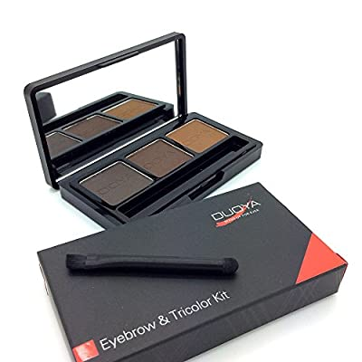 Cheapest Ucanbe 3 Colour Waterpfoof Eyebrow Powder/Shadow Palette with Double Sides Brush by Ucanbe - Free Shipping Available