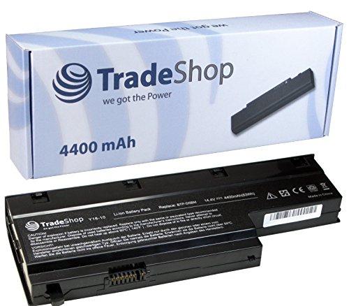 Hochleistungs Notebook Laptop AKKU 4400mAh für Medion Akoya Akoya P7615 P7618 E7214 E7216 MD97476 MD98360 MD98410 MD98550 MD98580 P-7615 P-7618 MD-98550 MD-98580 ersetzt 60.4DN0T.001 604DN0T001