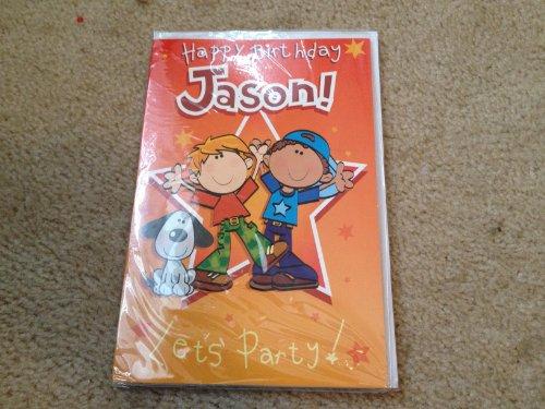 Happy Birthday Jason - Singing Birthday Card - 1