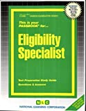 img - for Eligibility Specialist(Passbooks) (Career Examination Series) by Jack Rudman (2013) Plastic Comb book / textbook / text book
