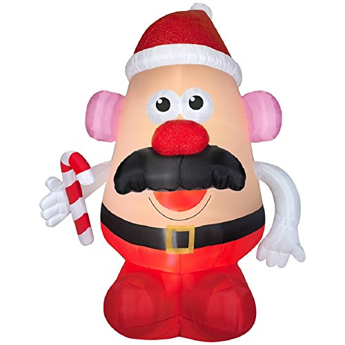 Christmas Mr Potato Head
