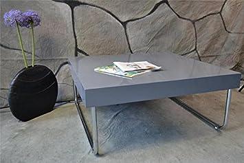Couchtisch tisch wohnzimmertisch hochglanz anthrazit lounge 80x80 cm as 62 da671 - Wohnzimmertisch anthrazit ...