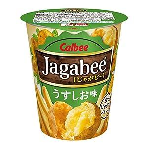 カルビー Jagabee(ジャガビー) うすしお味カップ 40g×12個