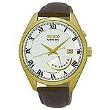 セイコー SEIKO キネティック クオーツ メンズ 腕時計 SRN074P1 ゴールド [並行輸入品]