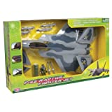 "F22 Raptor Fighter Jet Playset (24""L, 11""W)"