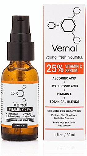 Vernal Anti Aging Serum - une haut Grade 25 %