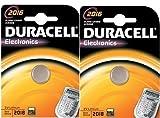 2 DURACELL 2016 Lithium Batteries CR2016 DL2016 ECR2016 Expiry 2021