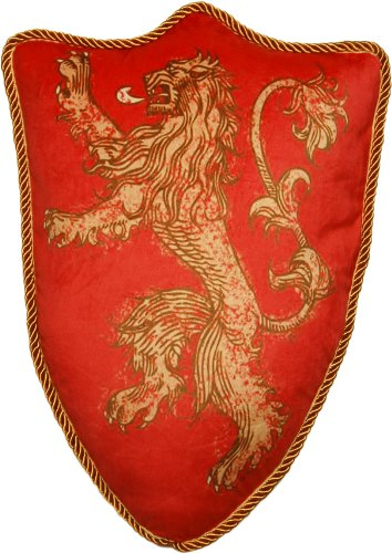 Game of Thrones House Lannister Lion Sigil Pillow
