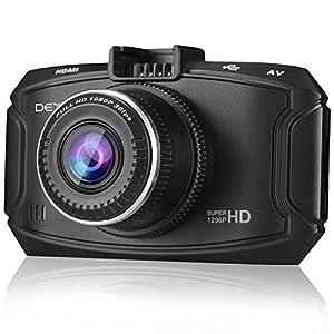 Dexors X7 Dash Cam, Car Camera 2560*1080p/30fps 170° Wide Angle with GPS, G-sensor, WDR Superior Quality Night Vision, 6-glass Lenses, 2.7