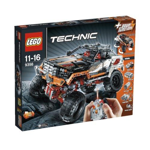 LEGO 乐高 机器组 Technic 9398 四驱越野遥控车 $160.98(约¥1200)
