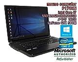【中古ゲーミングノートパソコン★初期設定済!★無線LAN内蔵】mouse computer P170HN Windows10 17.3インチ Core i7 2670QM 2.20GHz メモリ16GB SSD120GB+HDD500GB NVIDIA Geforce GTX580M