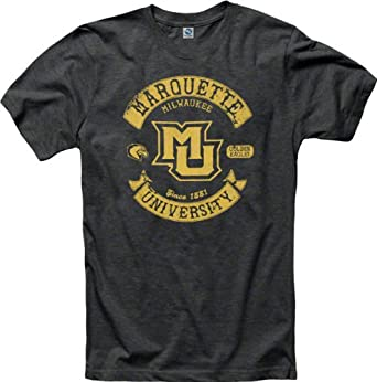 Marquette Golden Eagles Heathered Midnight Rockers Ring Spun T-Shirt