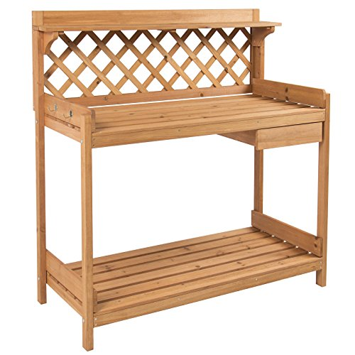 potting-bench-outdoor-garden-work-bench-station-planting-solid-wood-construction