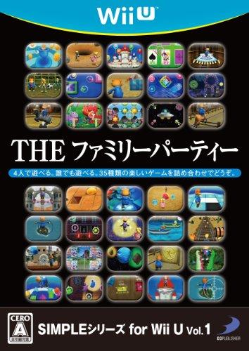 【ゲーム 買取】SIMPLEシリーズ for Wii U Vol.1 THE ファミリーパーティー