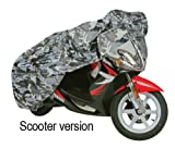 AQUATEX 2009 CAMOUFLAGE OUTSIDE BIKE/SCOOTER/CYCLE COVER SMALL OF906