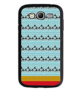 PrintDhaba Dolphin Pattern D-1870 Back Case Cover for SAMSUNG GALAXY GRAND NEO PLUS (Multi-Coloured)