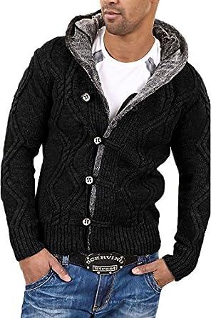 Carisma - 7013 - Veste en tricot - Noir - S