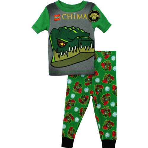 Lego-Chima-Boys-Green-Croc-Tribe-Cragger-Pajamas