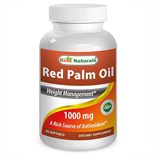 Best Naturals Red Palm Oil 1000mg 90 Softgels (Red Palm Oil Capsules compare prices)