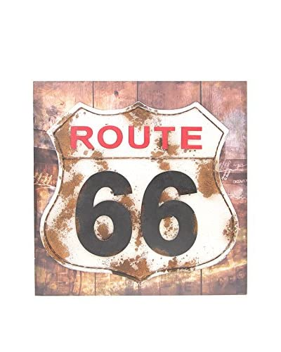 CO.IMPORT Panel Decorativo Route 66
