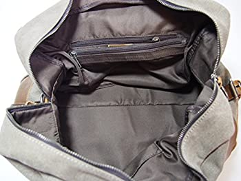 Samic® Casual Life Genuine Leather Satchel Duffel Bag 2