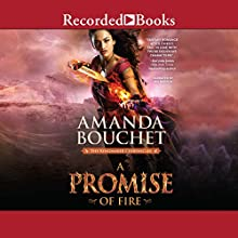 A Promise of Fire Audiobook by Amanda Bouchet Narrated by Mia Barron