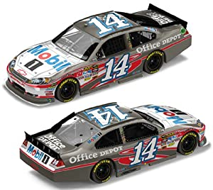 Tony Stewart #14 Mobil 1 2012 Brushed Metal 1:24 by Unknown