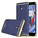 Aobiny New Fashion Hard PC Back Case Cell Phone Cover Mobile Protect For Oneplus Three / OnePlus 3T (Blue)