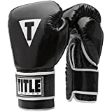 TITLE Classic Women S Pro Style Training Gloves Black/White Large