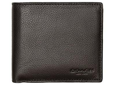 [コーチ] COACH 財布(二つ折り財布) F75003 ブラック カーフ レザー コイン ウォレット メンズ [アウトレット品] [ブランド] [並行輸入品]