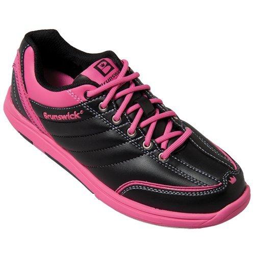 damen-bowlingschuhe-brunswick-diamond-black-hot-pink-41