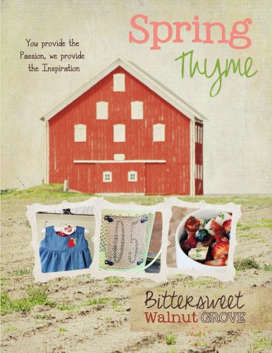 Spring Thyme (Bittersweet Walnut Grove Book 2) (Kristy Cook compare prices)