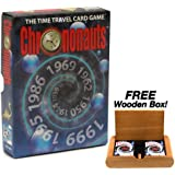Chrononauts - The Card Game of Time Travel. Plus FREE Wooden Box!
