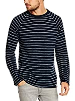 Pepe Jeans London Jersey Brair Slim Fit (Azul Oscuro)