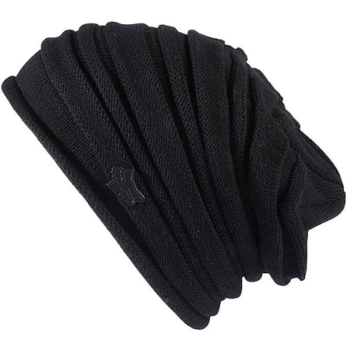 Fox Racing Sportswear Deep Space Girls Beanie Casual Hat - Color: Black, Size: One Size