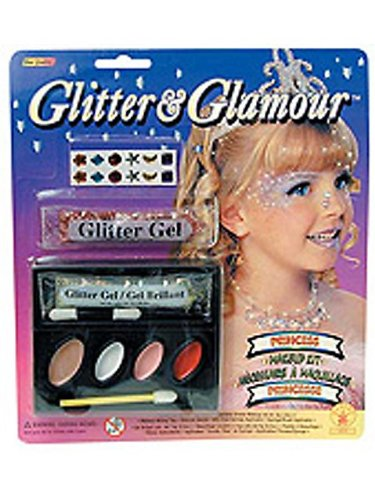 Rubie's Costume Glitter and Glamour Princess Makeup Kit