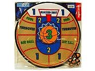 Sport Darts – Basketball Dart Board Game – With Easy-Stick Velcro Balls