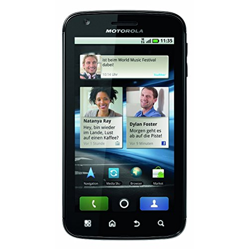 Motorola Atrix 4G MB860 Unlocked GSM Phone with Android 2.2 OS, Dual Core, 5MP Camera, GPS, Wi-Fi and Bluetooth – Black