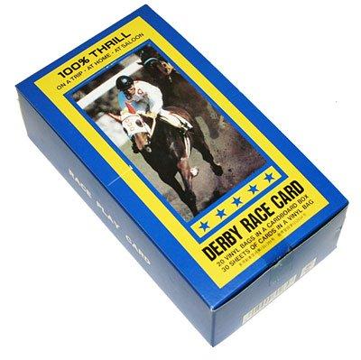 【懐かしの紙競馬】ダービーレースカード 1ボックス(30枚入×20セット)G4240
