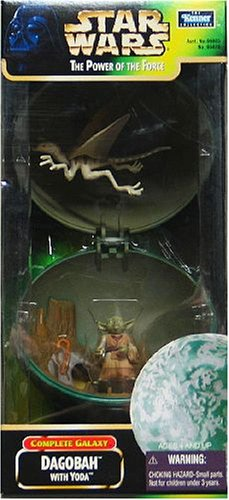 Star Wars Dagobah with Yoda Power of the Force Planet Play Set - Buy Star Wars Dagobah with Yoda Power of the Force Planet Play Set - Purchase Star Wars Dagobah with Yoda Power of the Force Planet Play Set (Star Wars, Toys & Games,Categories,Action Figures,Playsets)