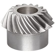 Boston Gear SS1421P Bevel Gear, 2:1 Ratio, 0.500&#034; Bore, 14 Pitch, 16 Teeth