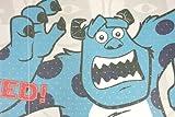 Disney Monsters Inc Noren Curtain Tapestry Made in Japan