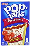 Kelloggs Pop Tarts Frosted Raspberry 416 g (Pack of 6)