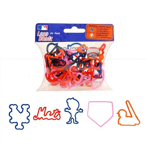 MLB New York Mets Team Player Logo Bandz Bracelets - 1